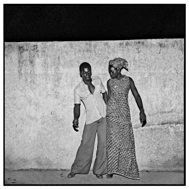 Sanlé Sory (West African, b. 1943) 'Les jeunes danseurs de Sikasso Sira' 1972