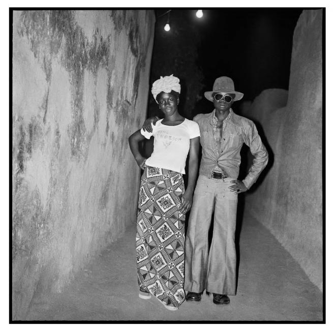 Sanlé Sory (West African, b. 1943) 'Ali et Sita en soiree' 1974