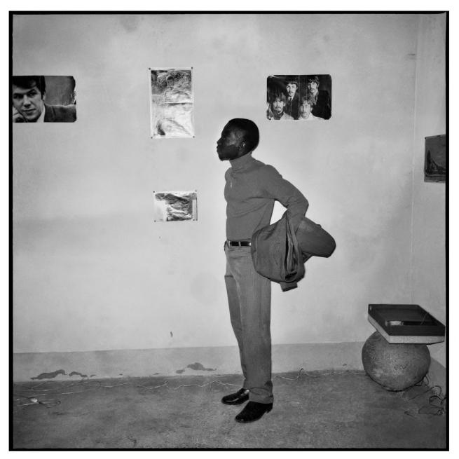 Sanlé Sory (West African, b. 1943) 'D'Adamo aux Beatles' 1969
