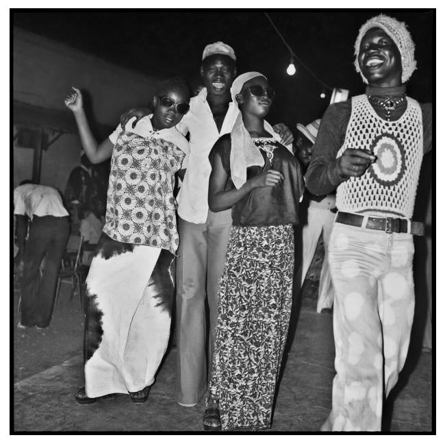 Sanlé Sory (West African, b. 1943) 'Fete au Volta dancing' 1982