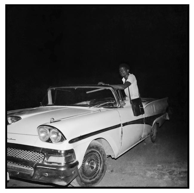 Sanlé Sory (West African, b. 1943) 'Ford Fairlane decapotable' 1966