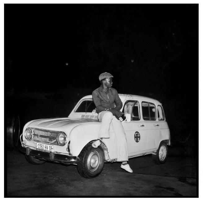 Sanlé Sory (West African, b. 1943) 'La 4L et son maitre' 1970