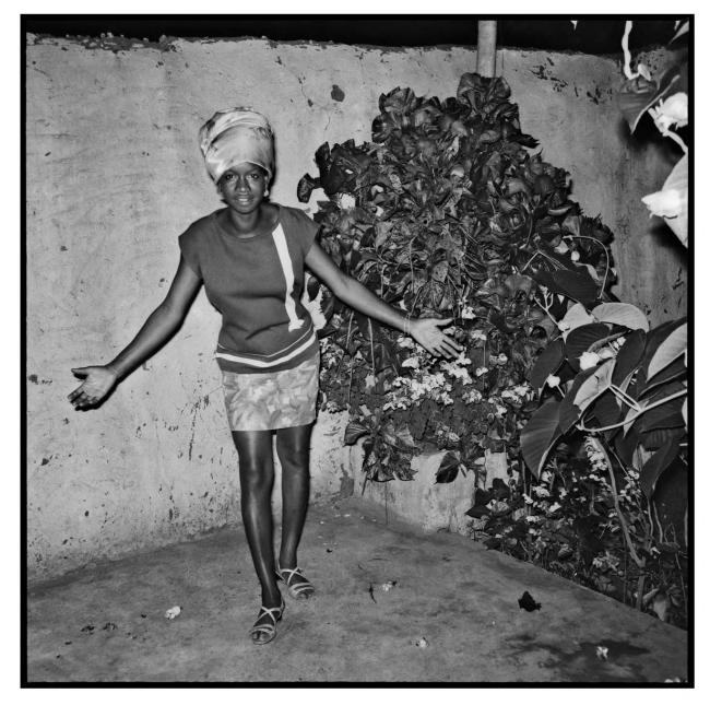 Sanlé Sory (West African, b. 1943) 'La cliente de la Calebasse d'or' 1969