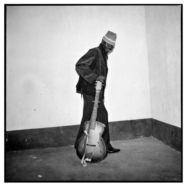 Sanlé Sory (West African, b. 1943) 'Le musicien' 1967