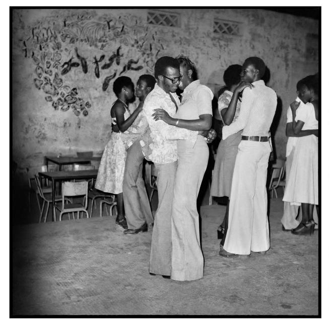 Sanlé Sory (West African, b. 1943) 'Le quart d'heure rumba a la soiree privee' 1977