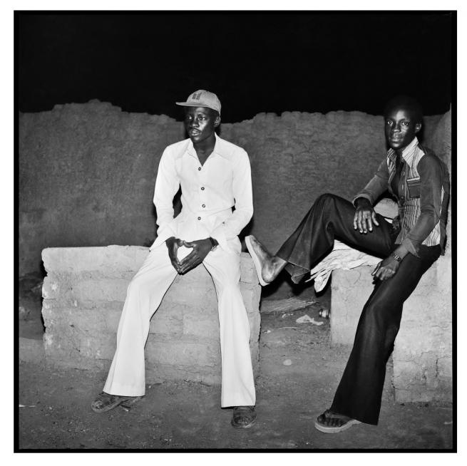 Sanlé Sory (West African, b. 1943) 'Le repos des danseurs' 1978