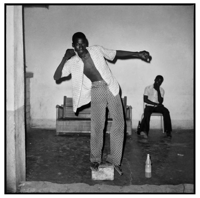 Sanlé Sory (West African, b. 1943) 'L'equilibriste' 1972