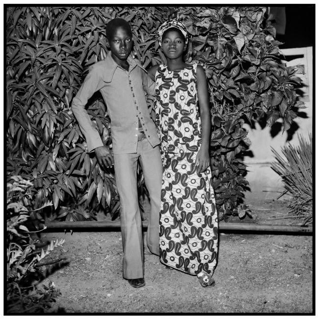 Sanlé Sory (West African, b. 1943) 'Les deux amourex de Dogona' 1972