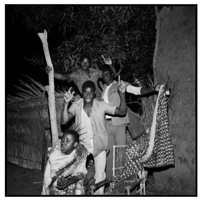 Sanlé Sory (West African, b. 1943) 'Les noceurs de Banzon' 1972