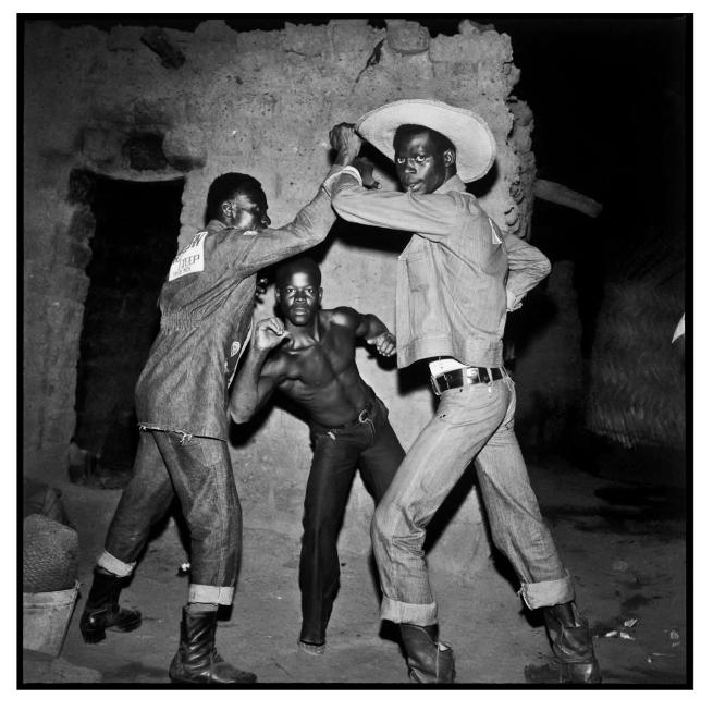 Sanlé Sory (West African, b. 1943) 'Les Trois Cowboys de la Brousse' 1971