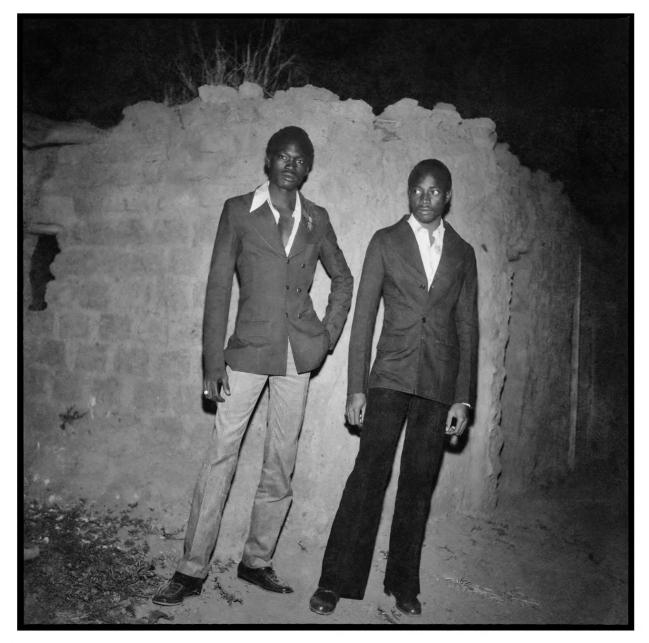 Sanlé Sory (West African, b. 1943) 'Sapeurs mossi de nuit' 1975