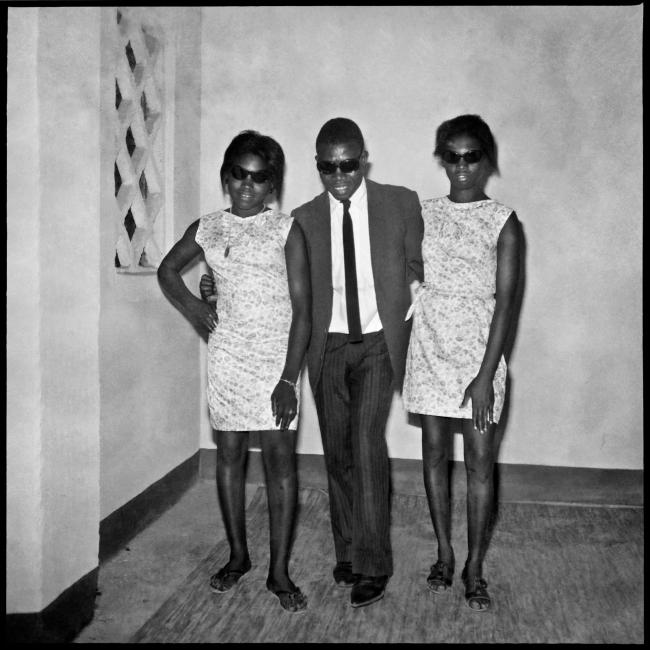 Sanlé Sory (West African, b. 1943) 'Soirée dansante à la maison' 1968