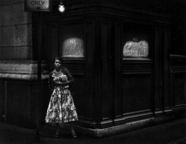 Dave Heath. 'Washington Square, New York City' 1960