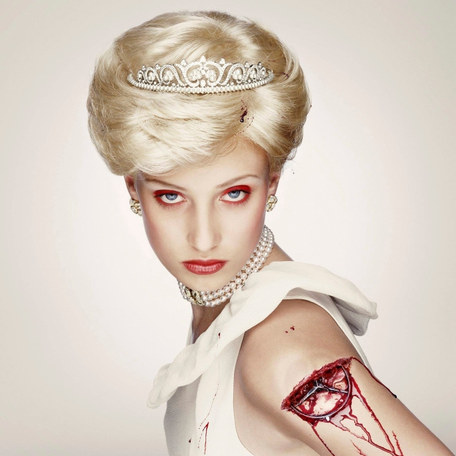 Erwin Olaf (Netherlands, b. 1959) 'Royal Blood, Di, †1997' 2000