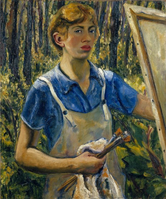 Lee Krasner. 'Self-Portrait' c. 1928
