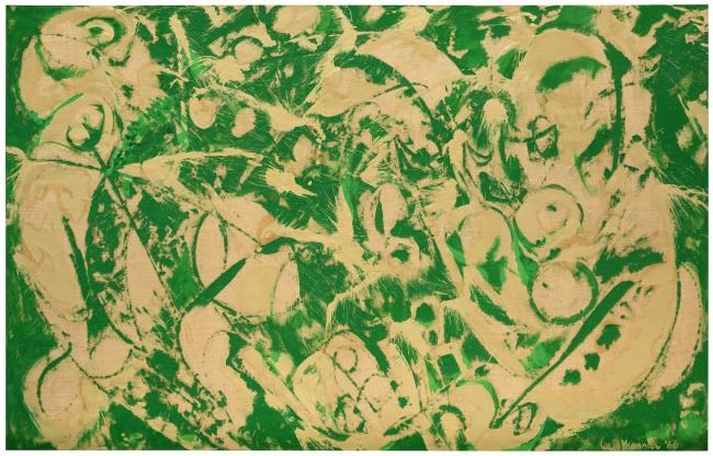 Lee Krasner (American, 1908-1984) 'Siren' 1966