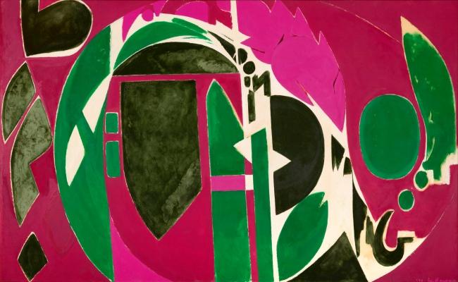 Lee Krasner (American, 1908-1984) 'Palingenesis' 1971