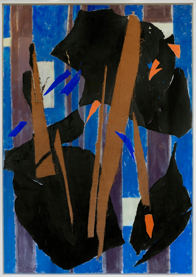 Lee Krasner (American, 1908-1984) 'Blue Level' 1955