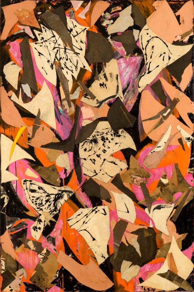 Lee Krasner (American, 1908-1984) 'Bald Eagle' 1955