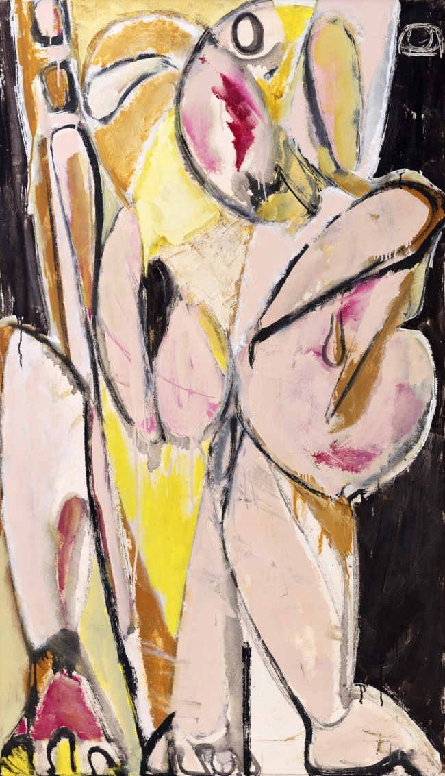 Lee Krasner (American, 1908-1984) 'Prophecy' 1956