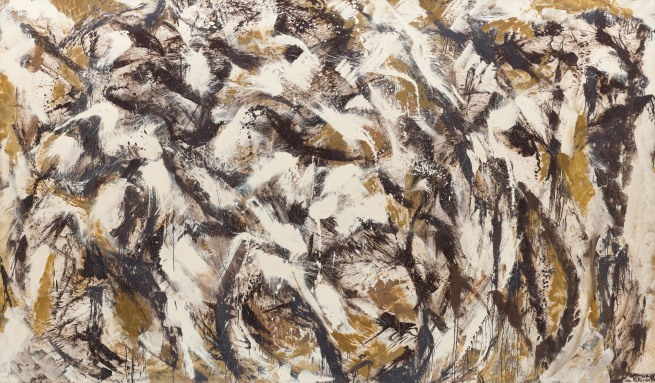 Lee Krasner (American, 1908-1984) 'Polar Stampede' 1960