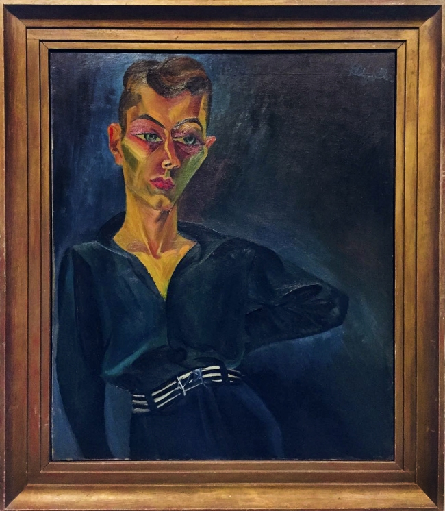 Conrad Felixmüller (German, 1897-1977) 'Portrait of Ernst Buchholz' 1921