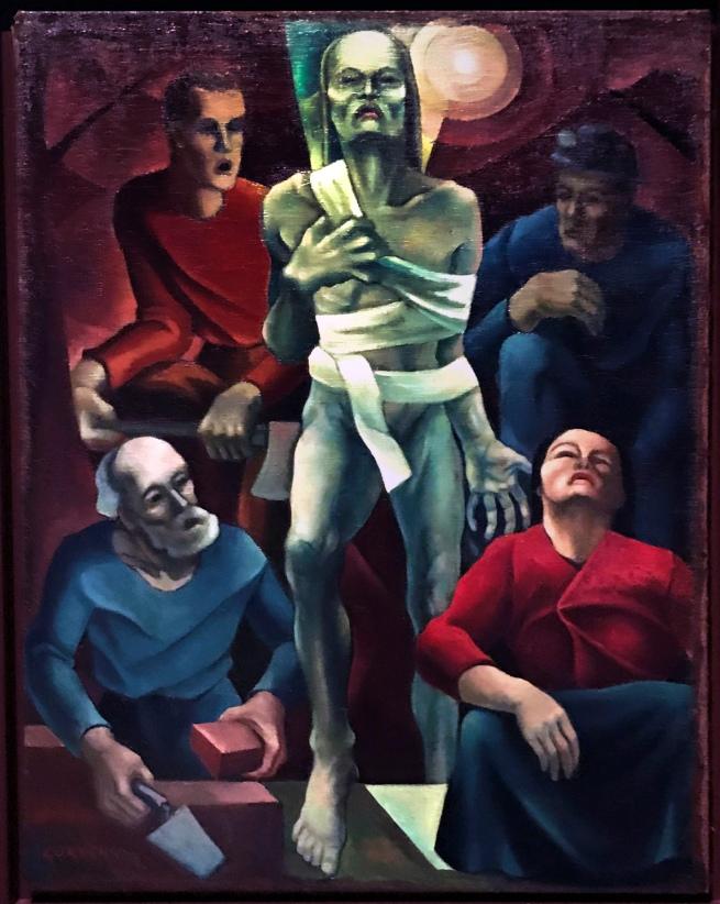 Herbert Gurschner (Austrian, 1901-1975) 'Lazarus (The Workers)' (Lazarus (Die Arbeiter)) 1928