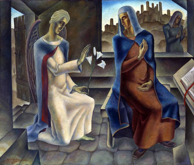 Herbert Gurschner (Austrian, 1901-1975) 'The Annunciation' 1929-30