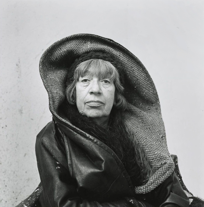 Irving Penn (American, 1917-2009) 'Lee Krasner, Springs, NY' 1972