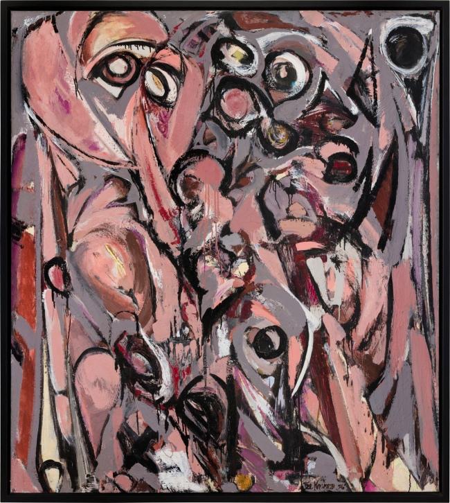 Lee Krasner (American, 1908-1984) 'Embrace' 1956
