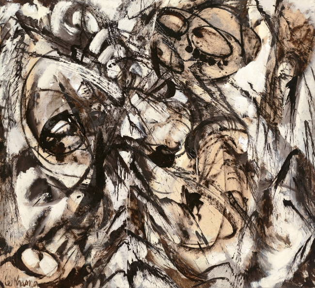 Lee Krasner (American, 1908-1984) 'The Guardian' 1960