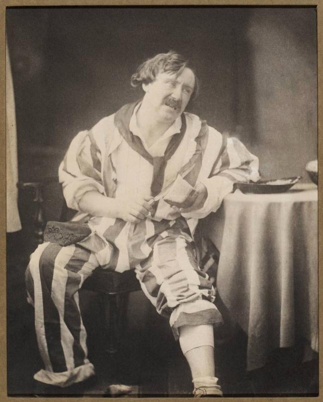 Oscar G. Rejlander (British, born Sweden, 1813-1875) 'Mr. Coleman as Belphegor' c. 1857, printed later