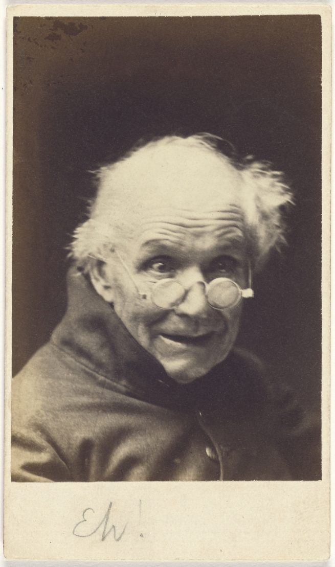 Oscar G. Rejlander (British, born Sweden, 1813-1875) 'Eh!' negative about 1854-1855; print about 1865