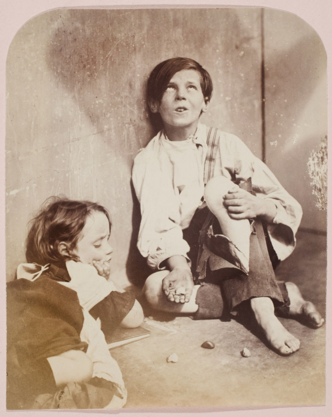 Oscar G. Rejlander (British, born Sweden, 1813-1875) 'Knuckle Bones' 1860