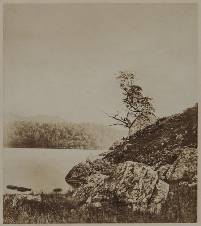 Attributed to Oscar G. Rejlander (British, born Sweden, 1813-1875) '[Landscape]' c. 1855