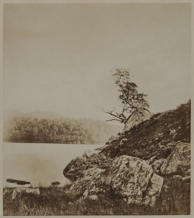 Attributed to Oscar G. Rejlander (British, born Sweden, 1813-1875) '[Landscape]' c. 1855