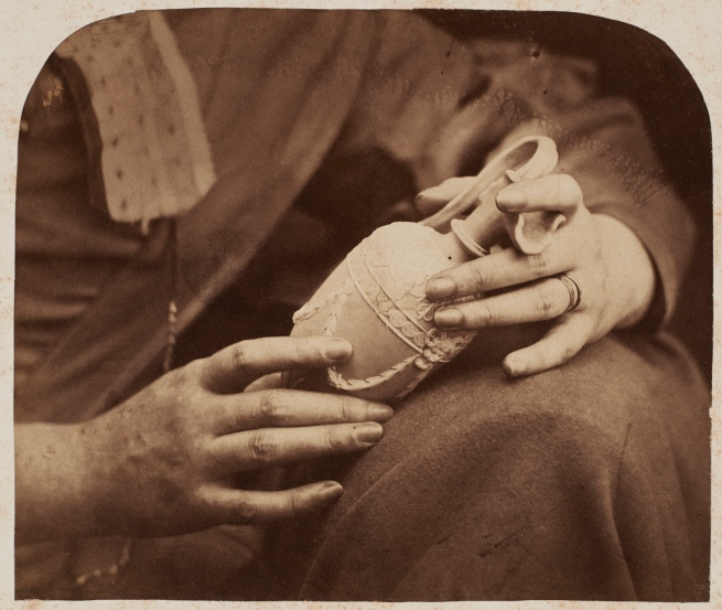 Oscar G. Rejlander (British, born Sweden, 1813-1875) 'Study of Hands' 1856