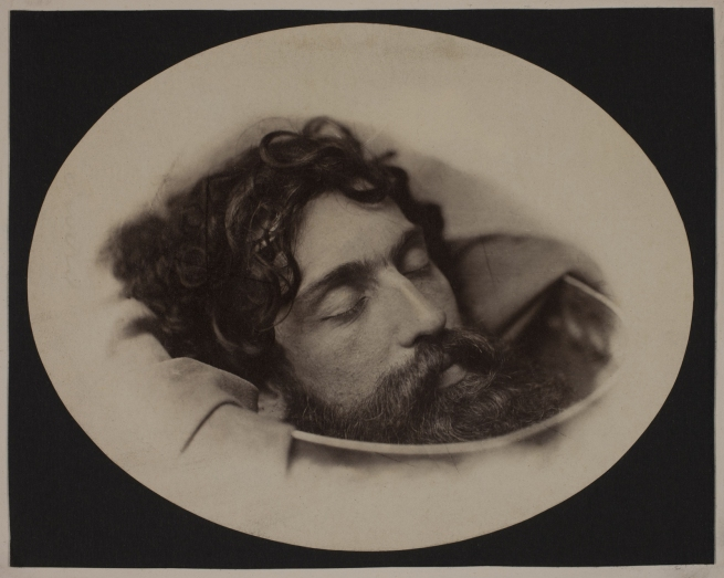 Oscar G. Rejlander (British, born Sweden, 1813-1875) 'Head of St. John the Baptist in a Charger' c. 1860