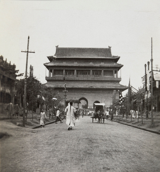 William Cooper. 'Drum Tower, Peking' 1910