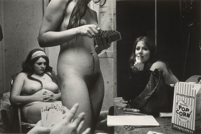 Susan Meiselas (American, b. 1948) 'The dressing room, Fryeburg, Maine, USA, 1975' 1975