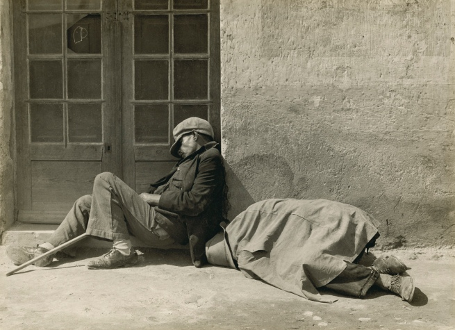 Manuel Álvarez. 'La Siesta de los Peregrinos' (the siesta of the migrants) 1930s