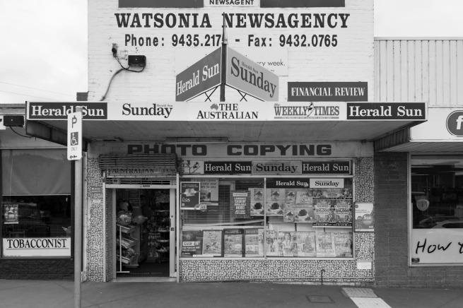 David Wadelton. 'Watsonia Road Watsonia' 2016
