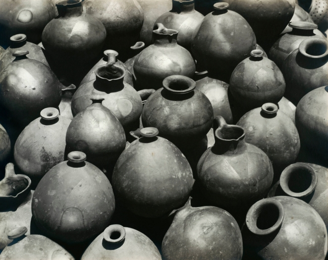 Edward Weston. 'Ollas de Oaxaca' 1926