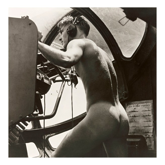 Horace Bristol (1908-1997) 'PBY Blister Gunner, Rescue at Rabaul, 1944'