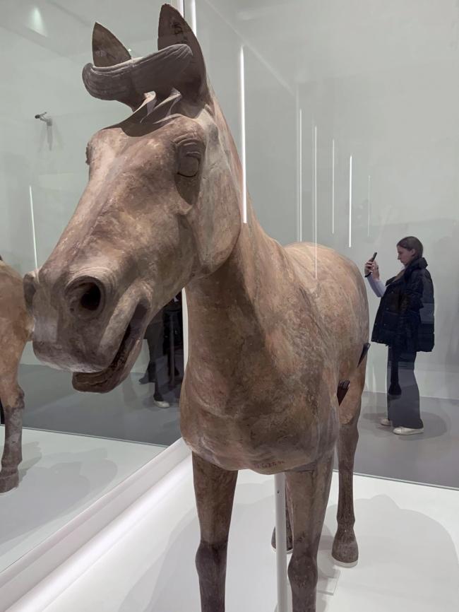 Chariot horse 车马 Qin dynasty, 221 - 207 BCE
