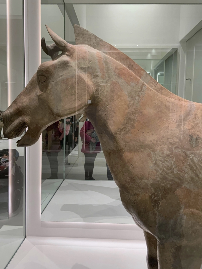Chariot horse 车马 Qin dynasty, 221 - 207 BCE