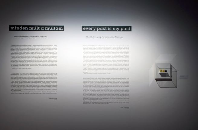 Installation view of the exhibition 'Every Past Is My Past' at the Hungarian National Gallery (MNG), Budapest
