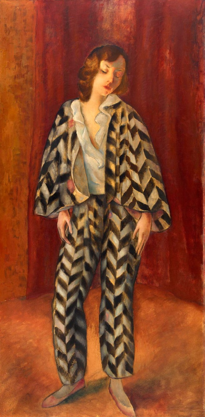 Josef Eberz (1880-1942) 'Dancer (Beatrice Mariagraete)' 1923