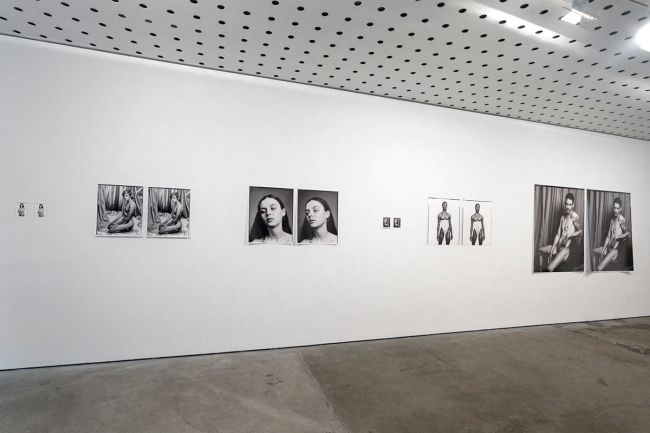 Installation view of the exhibition 'Shea Kirk: Vantages' at the Centre for Contemporary Photography, Melbourne