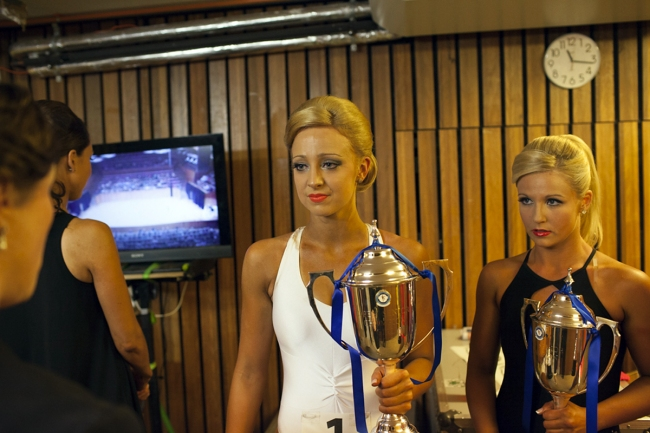 Lyndal Irons. 'Backstage before Parade of Champions' 2015